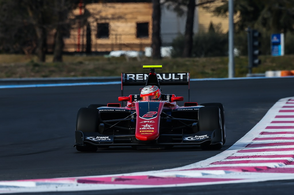GP3 2017 TEST PAUL RICARD