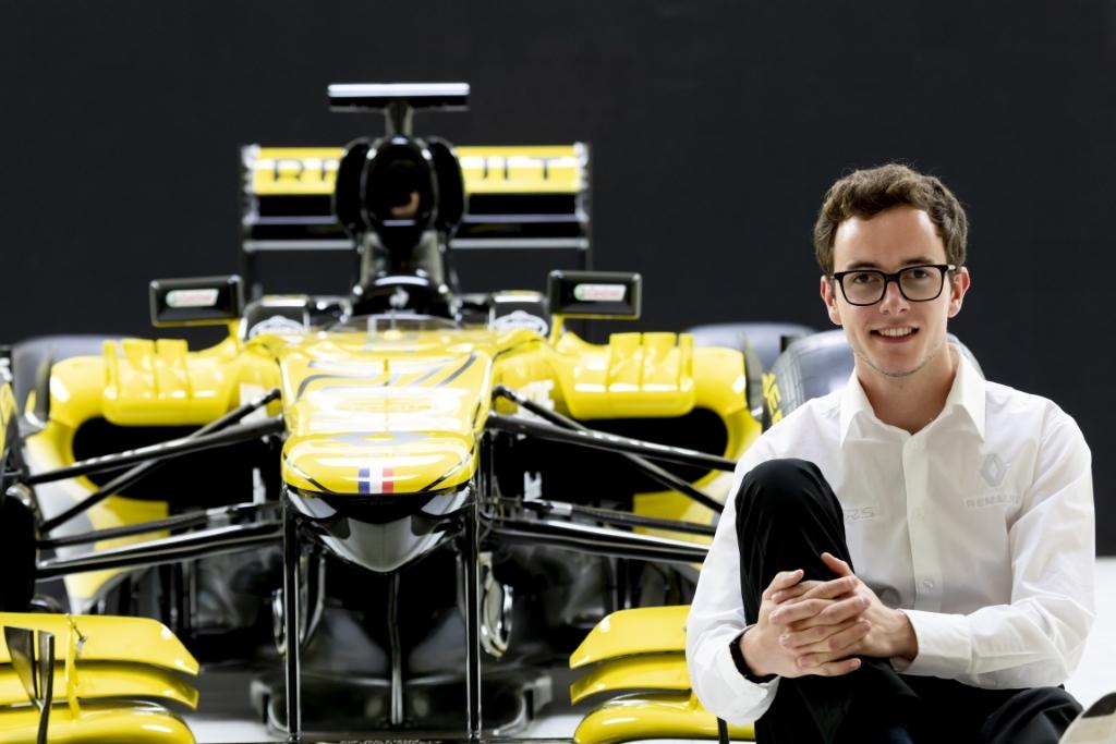 Anthoine devient Pilote Affilié Renault Sport